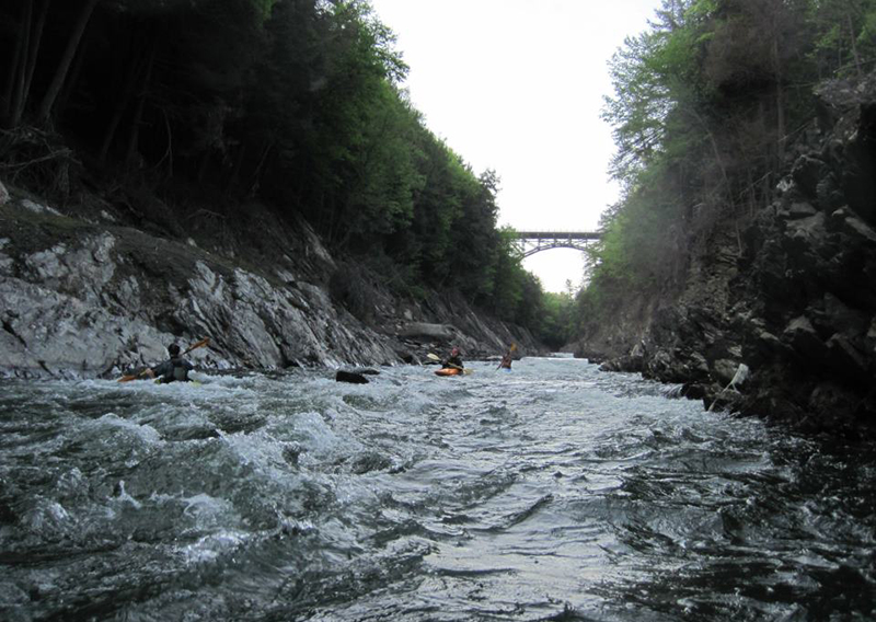 Photo of the Quechee Gorge