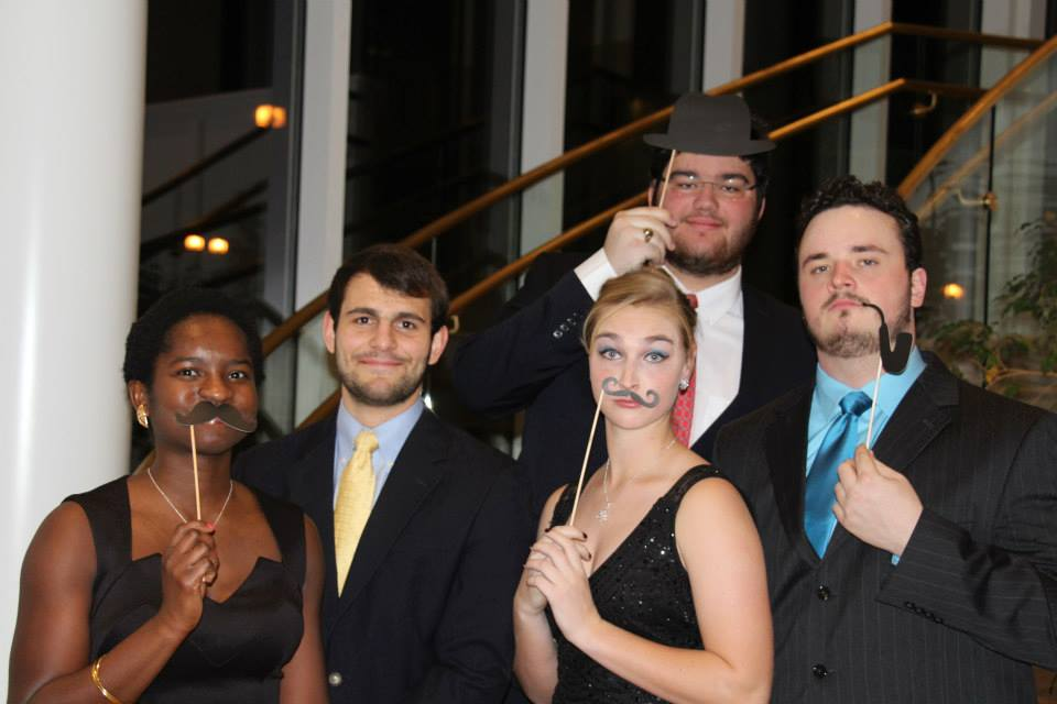 Me and some friends during our Freshman Winter formal.