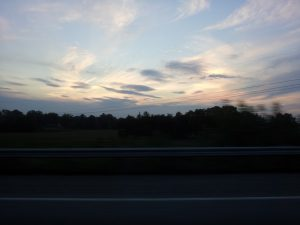road trip sunset 1