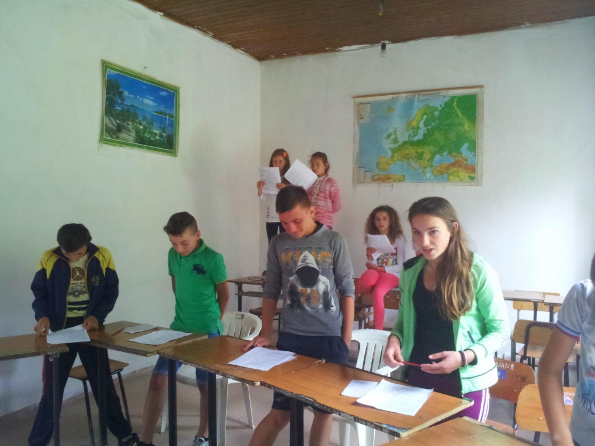 teaching Boge albanian alps