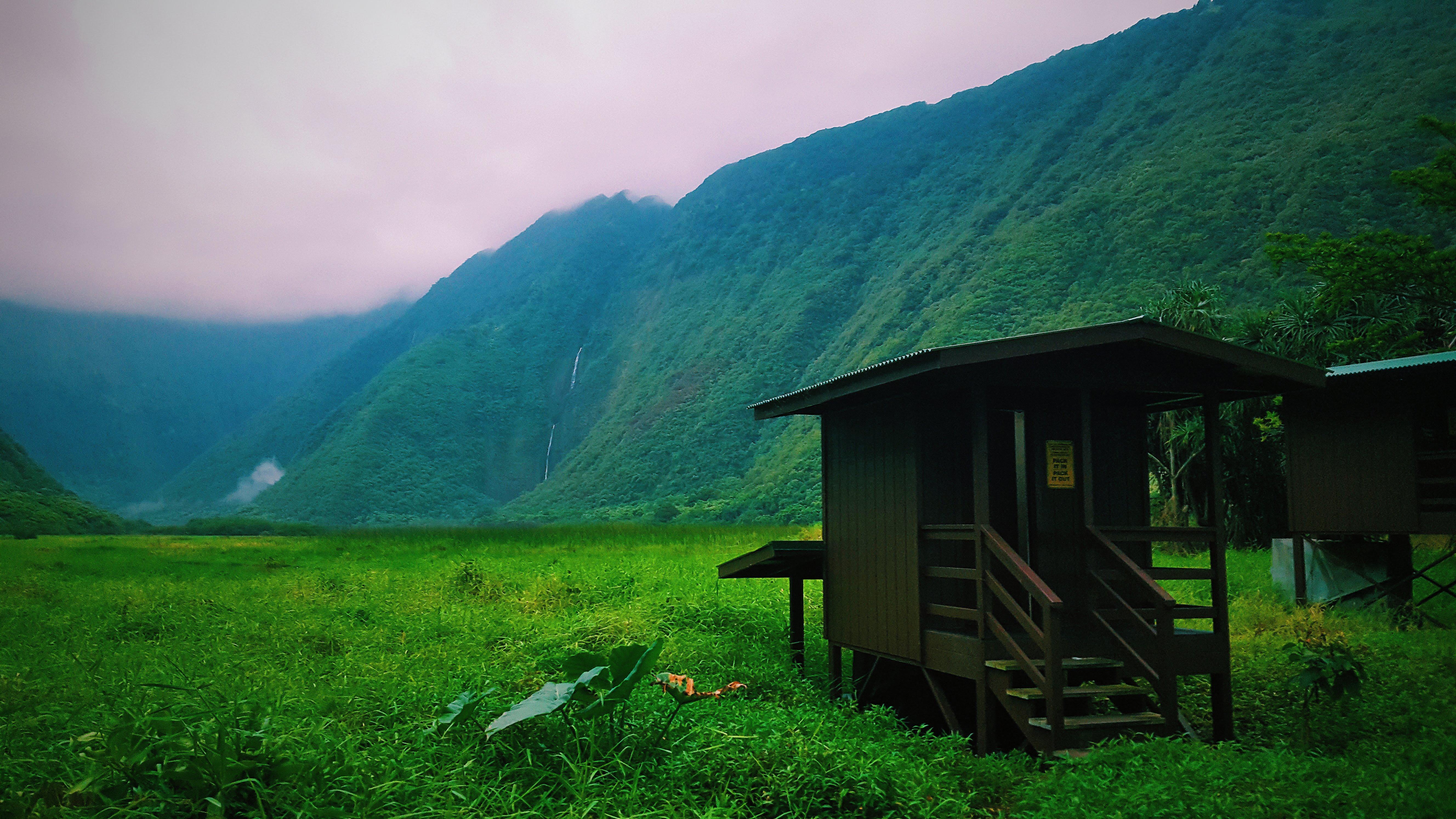 Outhouse in Waipio Valley
