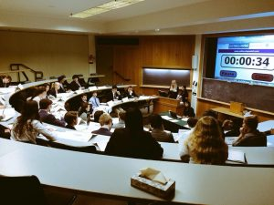 A general assembly committee at the Dartmouth Model United Nations Conference