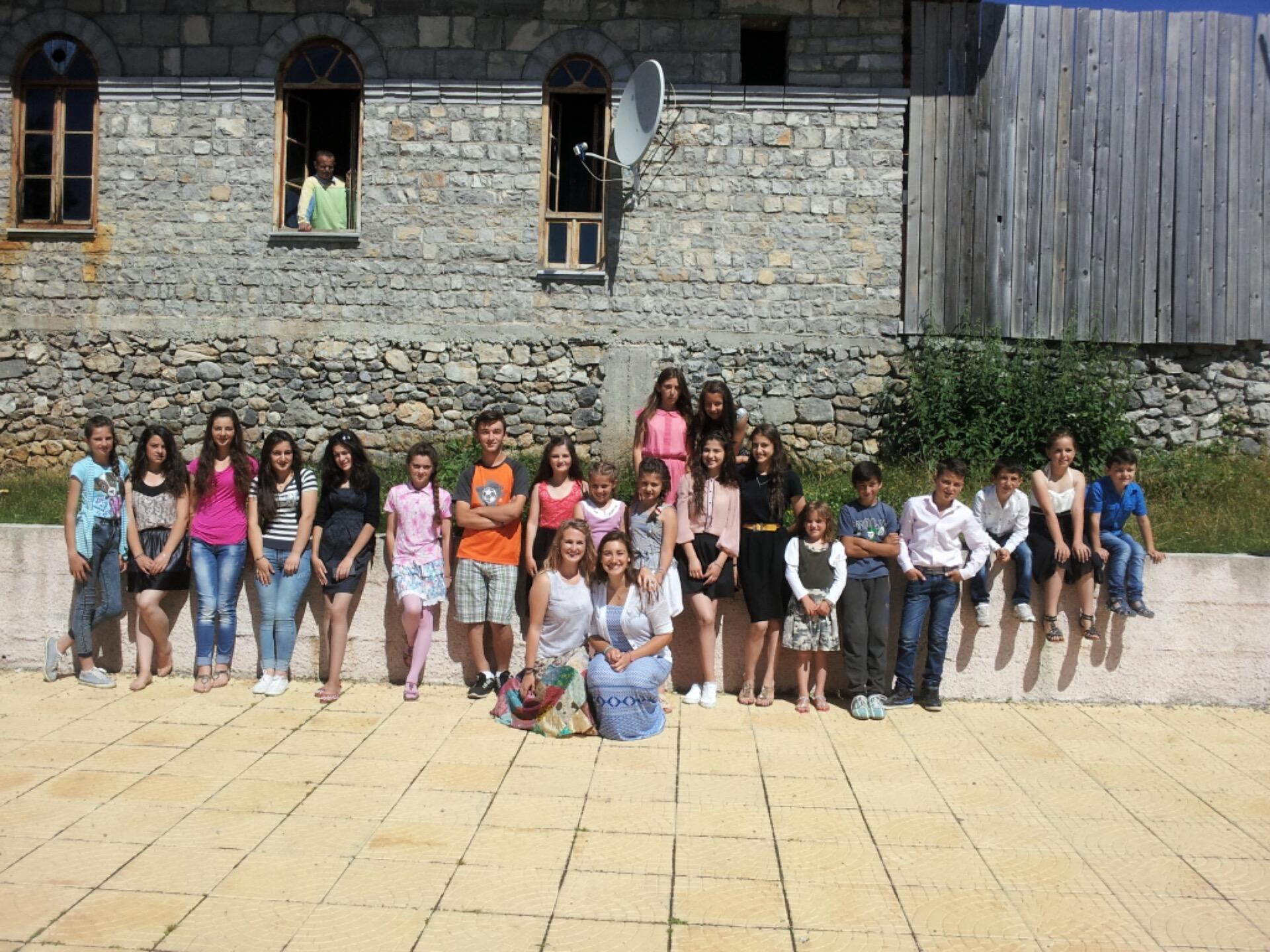 group picture post school dance albania vrith