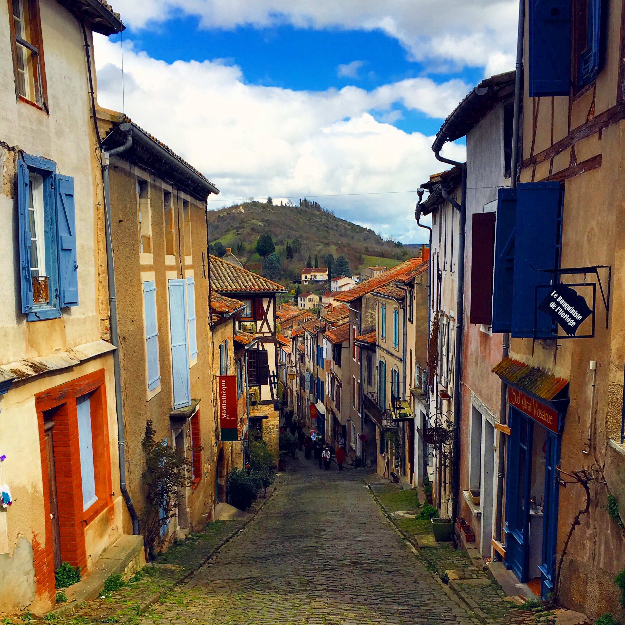 medieval village france