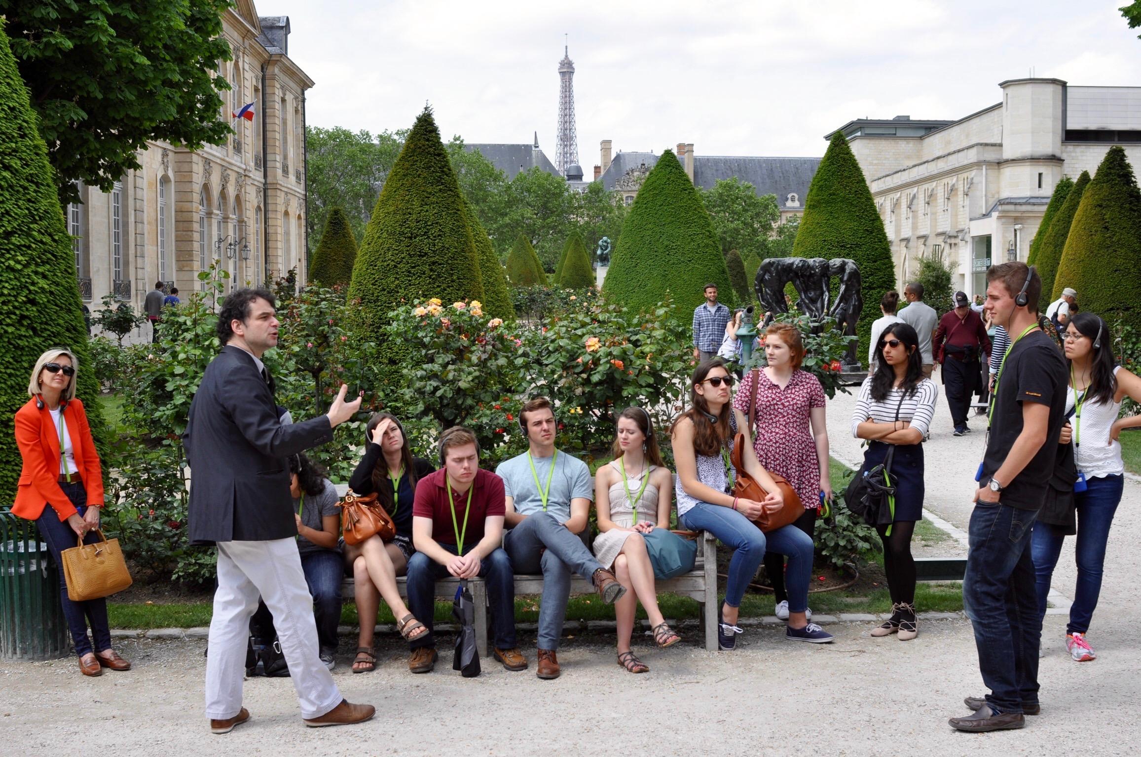 Musee Rodin LSA excursions Paris