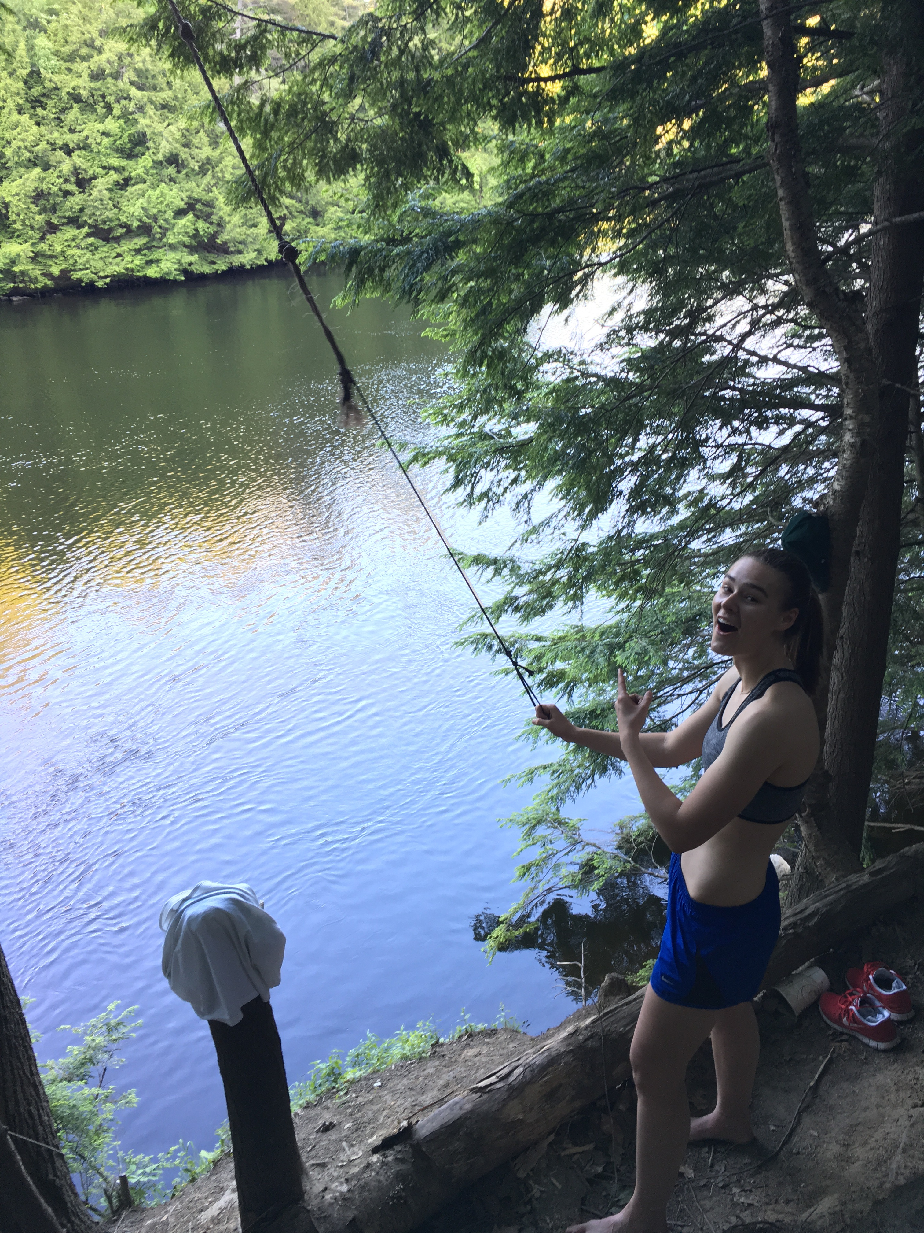 rope swing sophomore summer