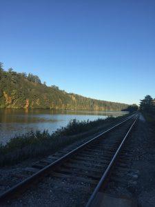 sunny railroad