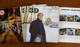 A photo of the November 2019 issue of 3D Magazine