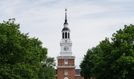 A photo of Baker Tower