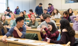 A photos of students during Dimensions