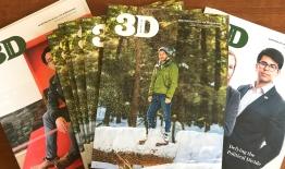 A photo of 3D Magazine covers Nov 2018