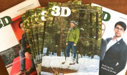 A photo of 3D Magazine covers Nov 2018