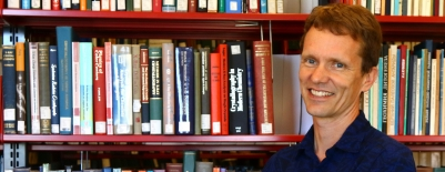 A photo of professor Carl Renshaw