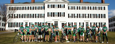A photo of the Dartmouth Cycling Team
