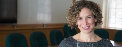 A photo of professor Elizabeth Cascio