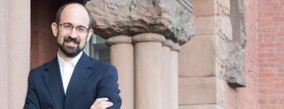 A photo of professor Jonathan Smolin