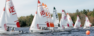 An image of the Dartmouth Sailing Team