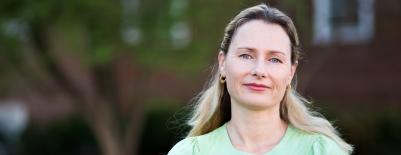 A photo of professor Sienna Craig