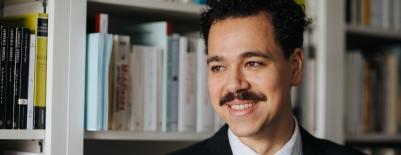 A photo of professor Yasser Elhariry