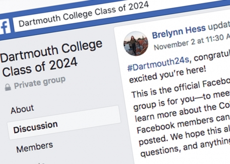 An image of the Class of 24s Facebook Group