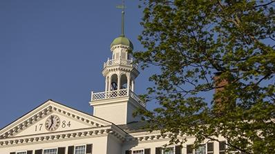 A photo of Dartmouth Hall