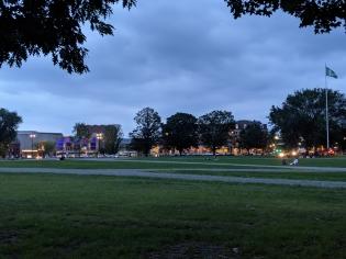 Dartmouth Green at Dusk