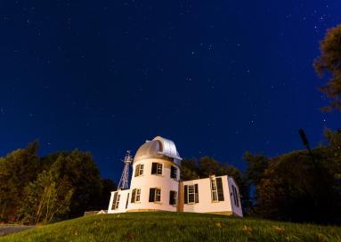 A photo of Shattuck Observatory