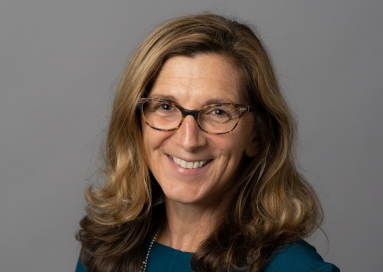 A photo of professor Lisa Baldez