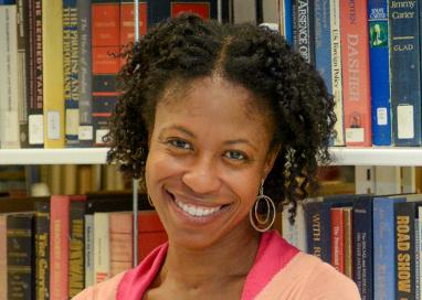 A photo of professor Rashauna Johnson