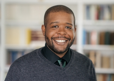 A photo of professor Vaughn Booker