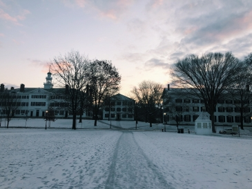 Sunrise Over Dartmouth Hall
