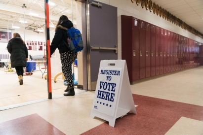 Register to Vote / Eli Burakian '00
