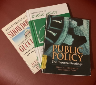 Public Policy 5: Introduction to Public Policy