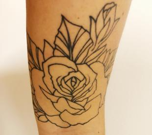 tattoo of a rose