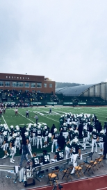 A great way to spend Saturday - watching the football team beat Harvard!