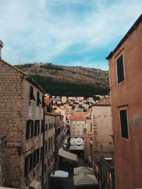 The view of Old Town, Dubrovnik. We stayed right around the corner from where this picture was taken!