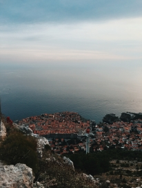 We had a picnic on top of Mount Srd, overlooking Dubrovnik.