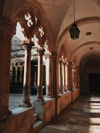 Wandering around a Dominican Monastery.