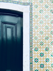 One of coolest things about Portugal was the intricate tile work.