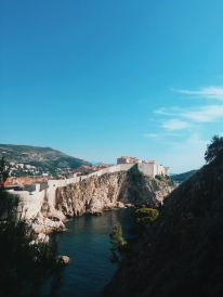 """The view of """"King's Landing"""" from Game of Thrones."""