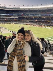Lily and I at Yankee Stadium!