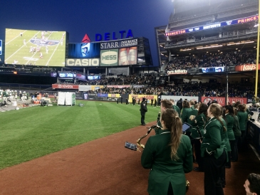 DCMB on Yankee Stadium Field