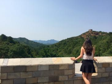 Colleen at the Great Wall