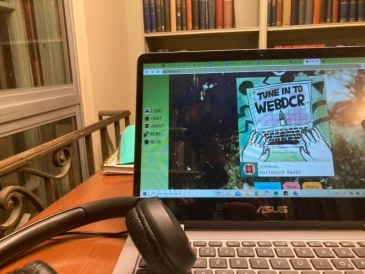 Dartmouth College Radio playing while I study