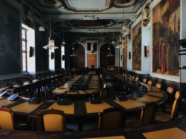 Toulouse's mayoral meeting room