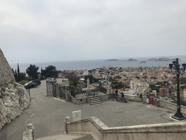 The view from Notre Dame de la Garde