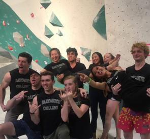 Climbing team places 5th at nationals!