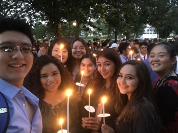 international students at matriculation