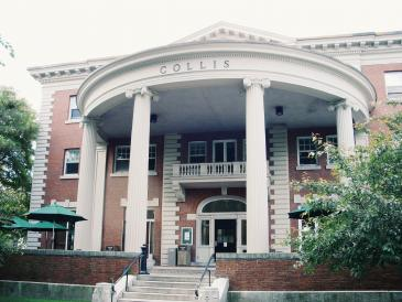 collis student center in the summer