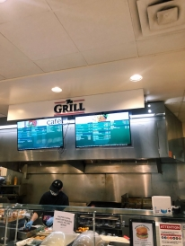 A photo of the Grill Station of the Hop.